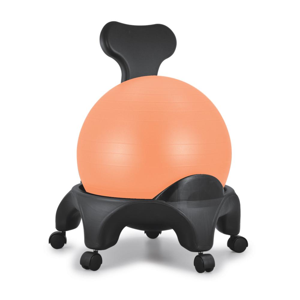 TONIC CHAIR Originale ballon Orange - Chaise Ergonomique