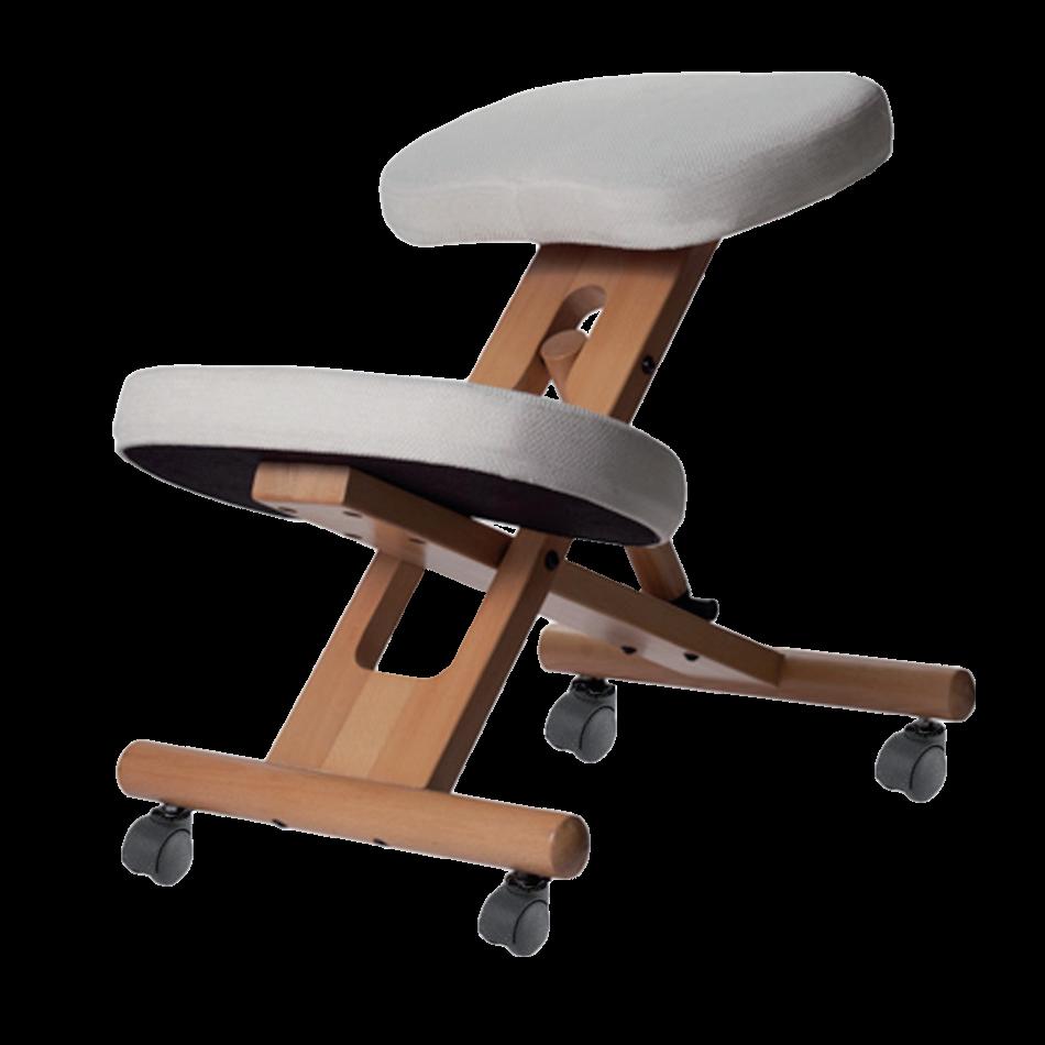 Stabido Beige - Siège ergonomique à mémoire de forme