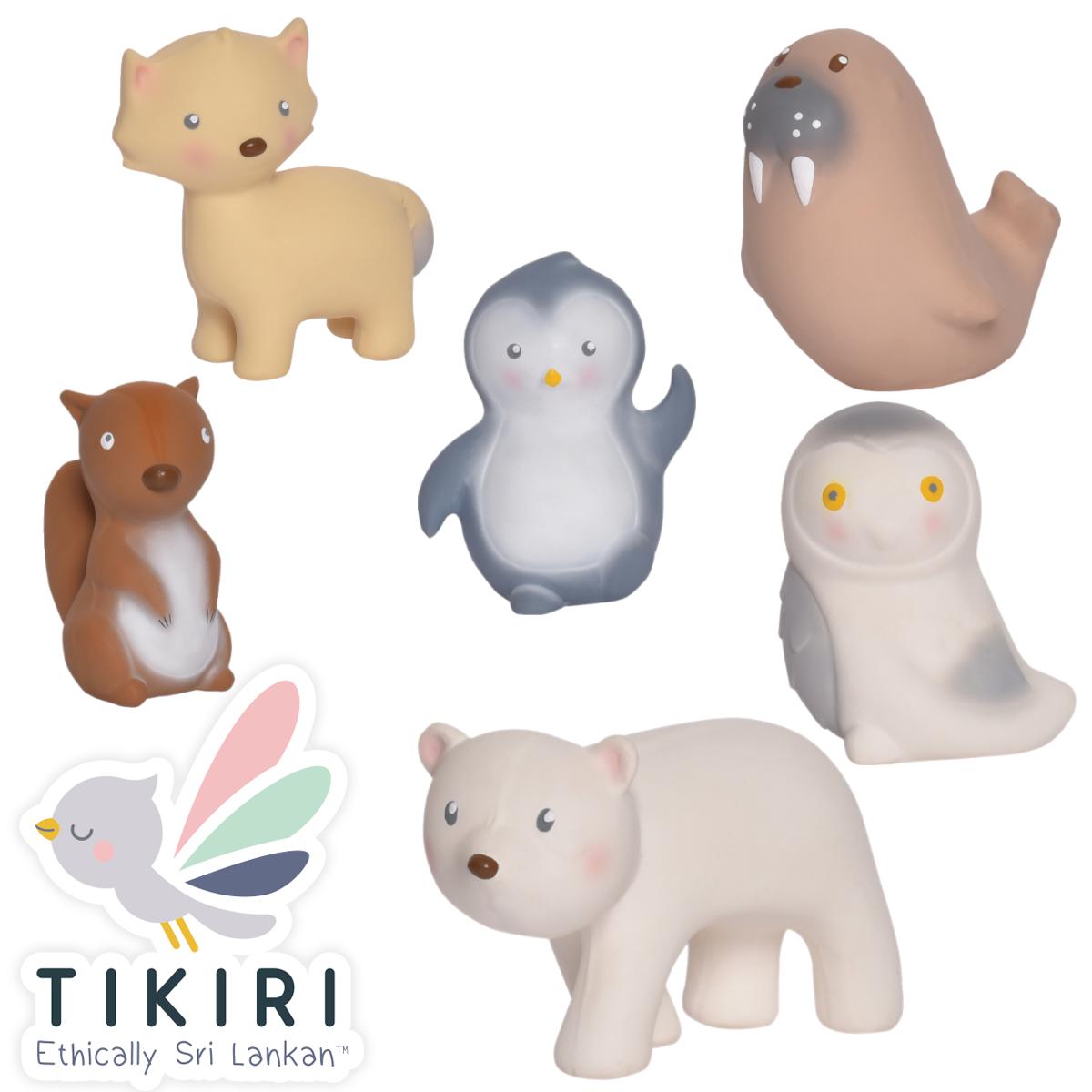 Mon Premier Animal Artique - Jouet de bain Tikiri