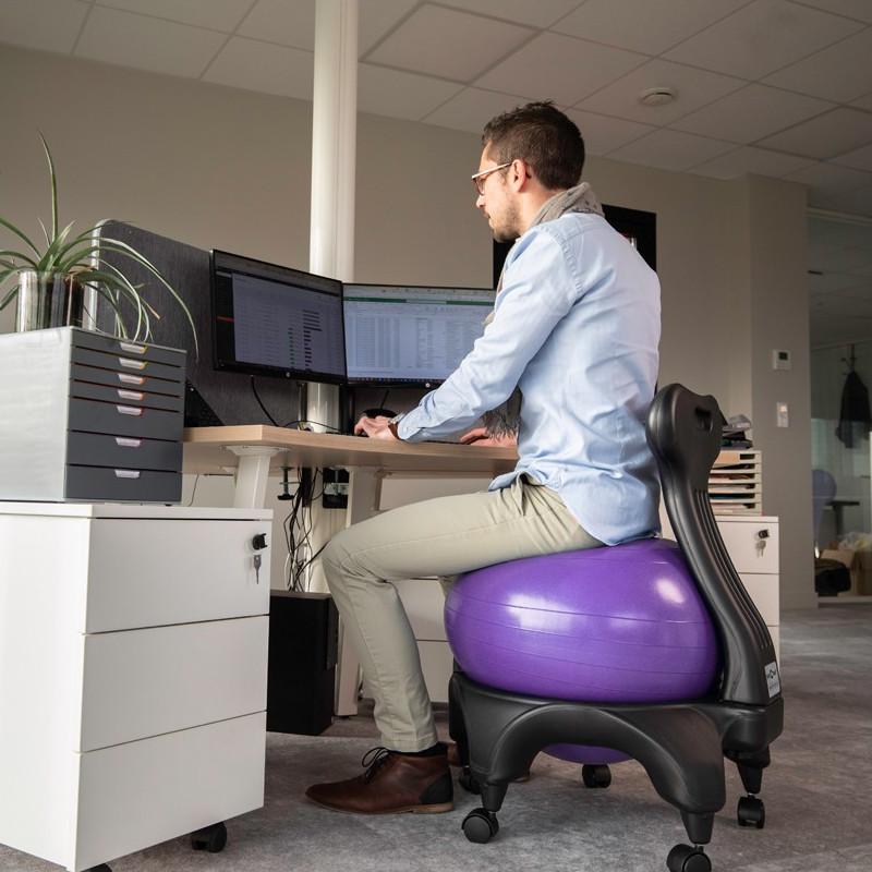 Tonic chair original ballon violet