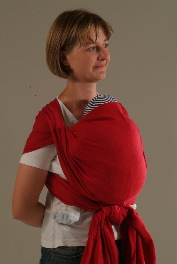 Echarpe de Portage Storchenwiege Rouge