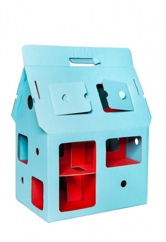 MobilHome Blue - Maison de Poupée