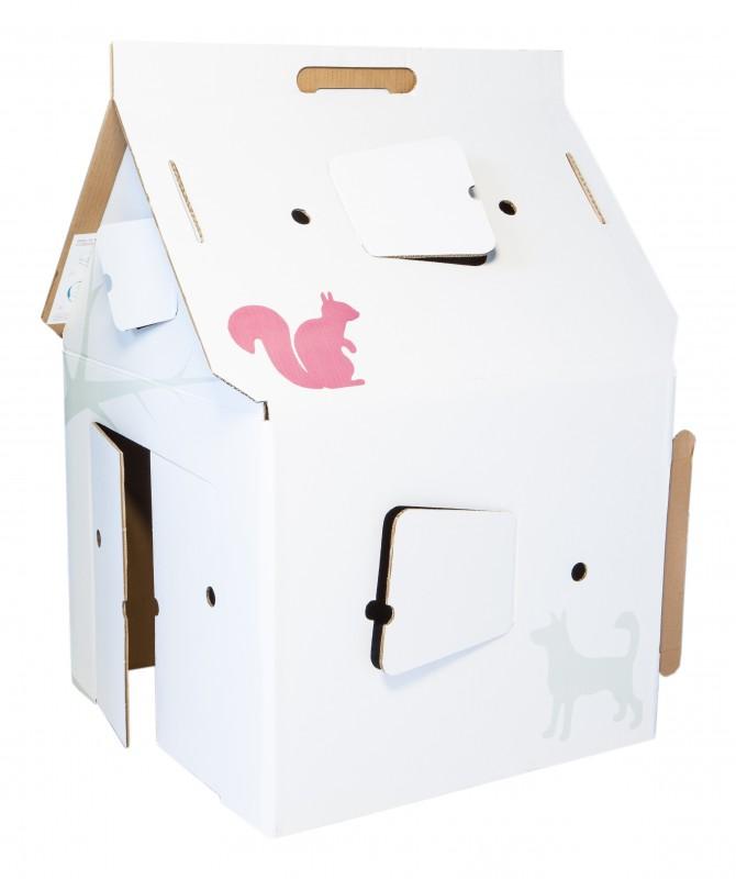 Casa Cabana Deco -  maison en carton - Kidsonroof