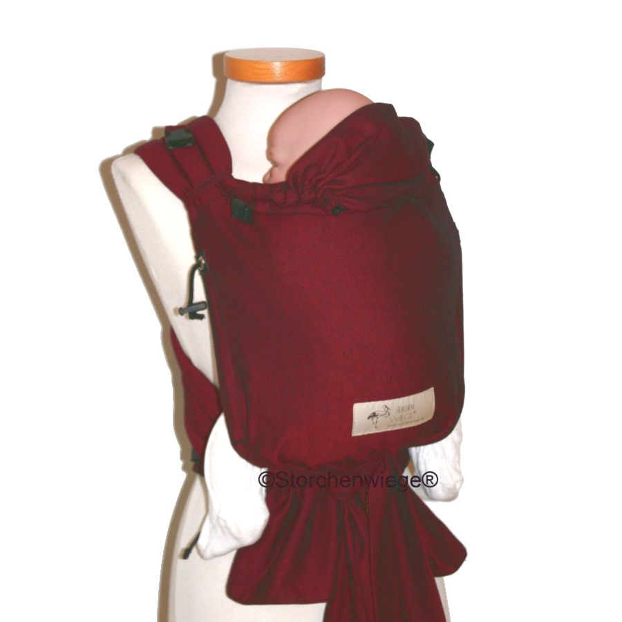 Porte b b babycarrier storchenwiege bordeaux arche de neo for Porte 15 bordeaux