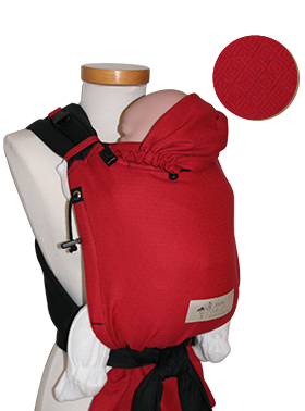 baby carrier Storchenwiege rouge