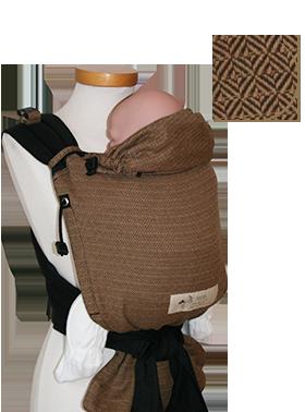 Porte-bébé BabyCarrier Storchenwiege Café