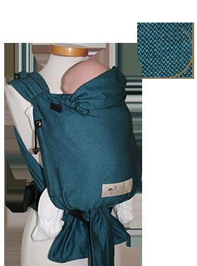 Porte-bébé Babycarrier Storchenwiege Turquoise