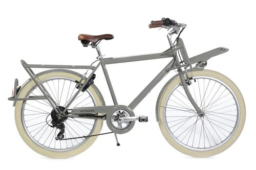Coursier Gris - vélo de ville Arcade