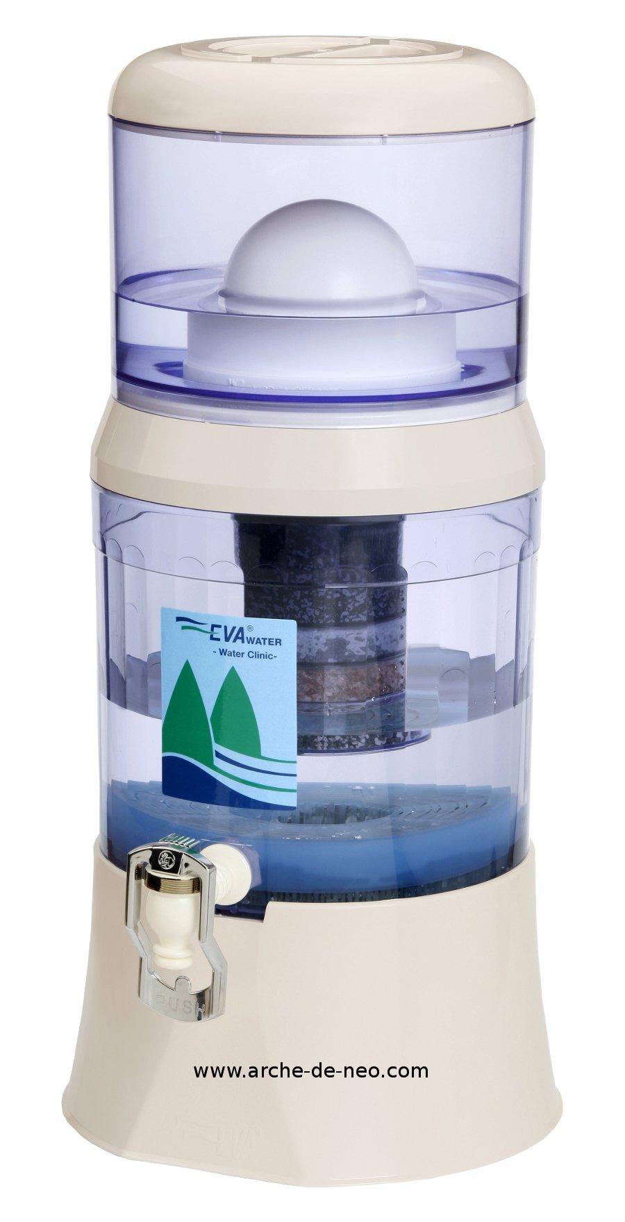Fontaine EVA 12 litres - Filtration de l\'eau