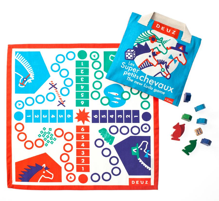 Le super jeu des Petits Chevaux - Deuz