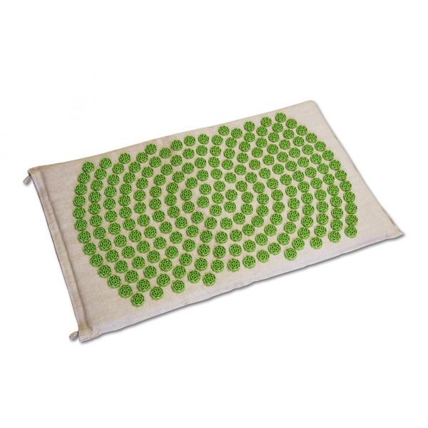 Tapis Fleur de Vie Shantimat Vert