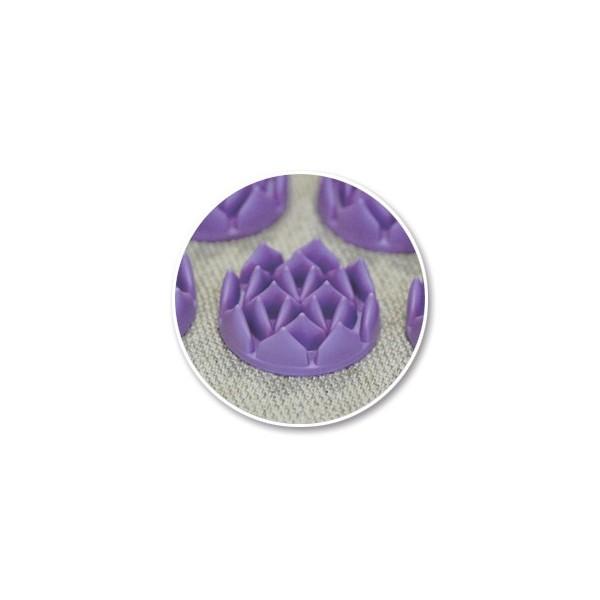 Coussin d 39 acupression shantimat violet arche de n o - Tapis d acupression shanti ...