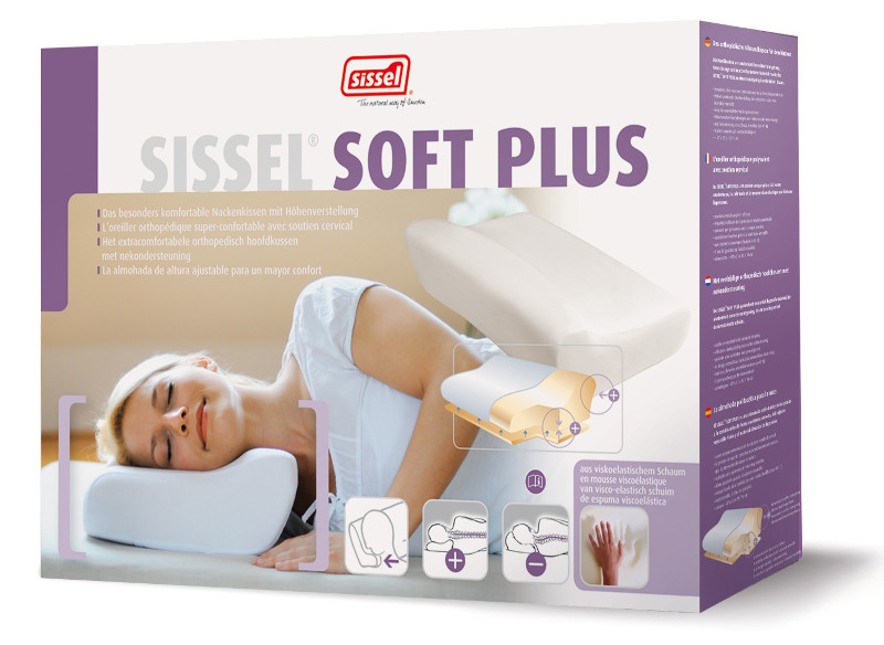 Oreiller ergonomique Sissel Soft Plus
