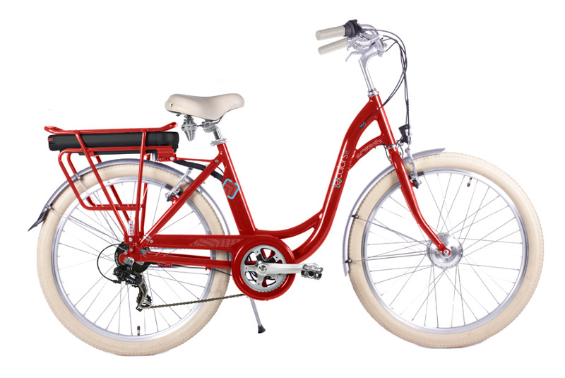 Vélo Electrique ARCADE E-COLORS ROUGE