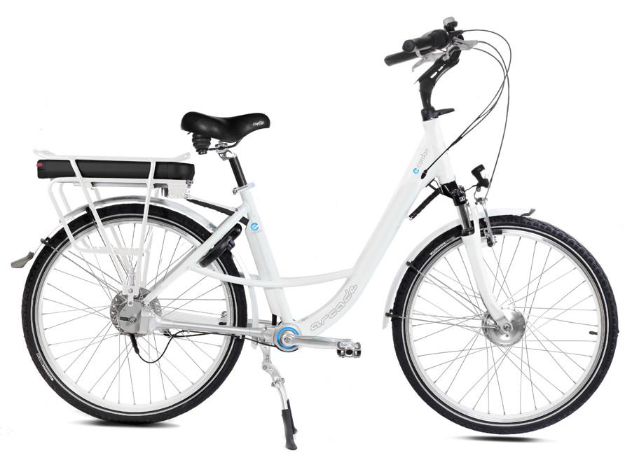 Vélo Electrique E-CARDAN blanc satiné - Arcade