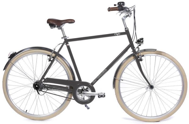 Coffee homme S7 gris - Vélo Arcade