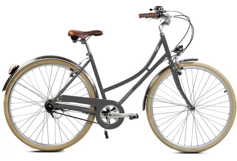Coffee femme S7 gris - Vélo de ville Arcade