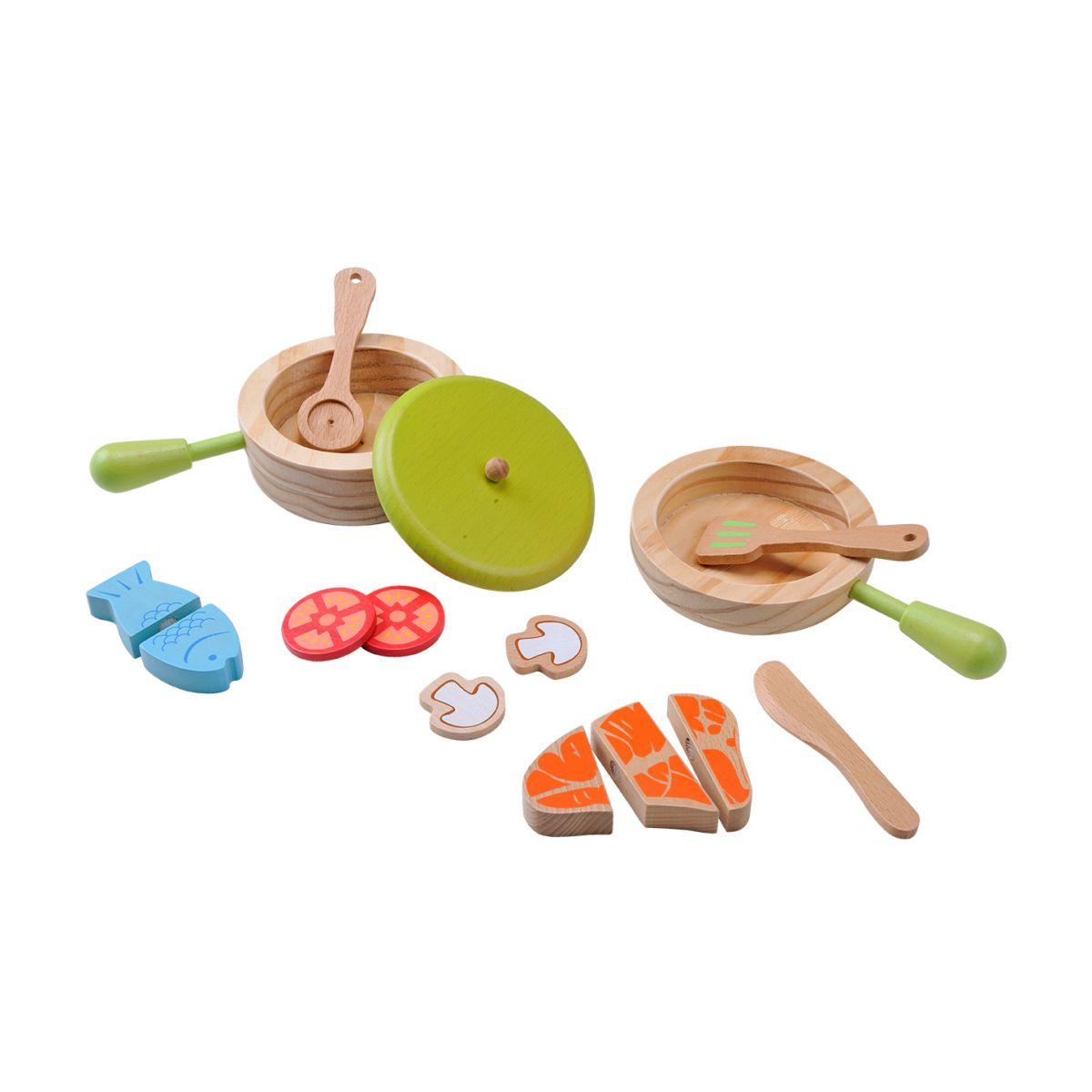 Kit de casseroles et de poêles pour cuisiner - Everearth