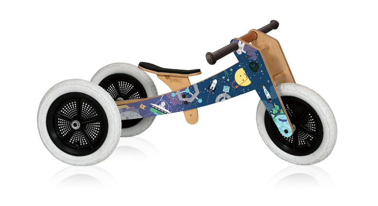 Draisienne 3 en 1 Wishbone Bike  - Space