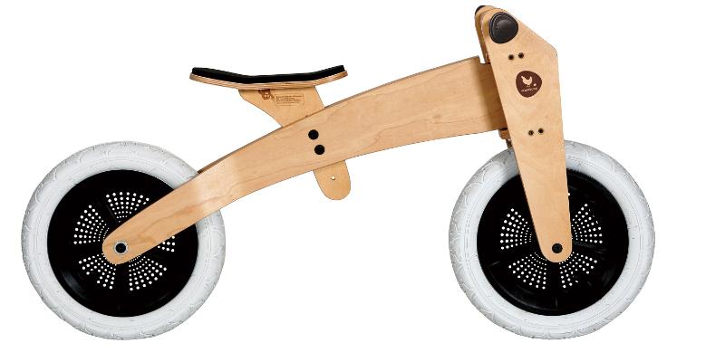 draisienne wishbone bike 3 en 1