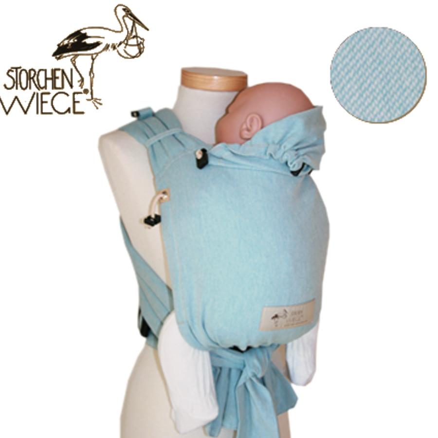 porte bébé  babycarrier Storchenwiege Aqua