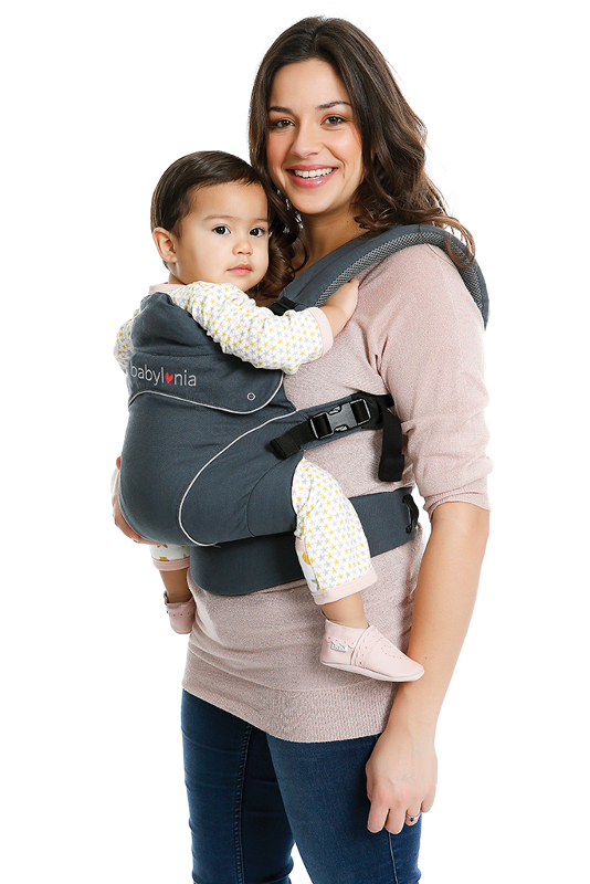 Babylonia Flexia dark grey enfant