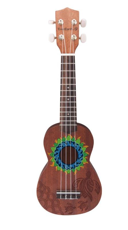 Ukulélé Honua - Everearth - guitare enfant