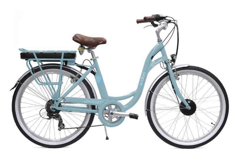 Ecolors Vert Celadon - Vélo électrique Arcade Cycles
