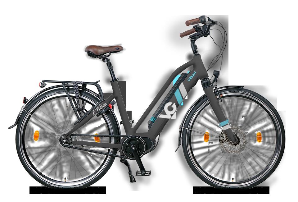 Odeon VG - Vélo électrique Moteur Pédalier
