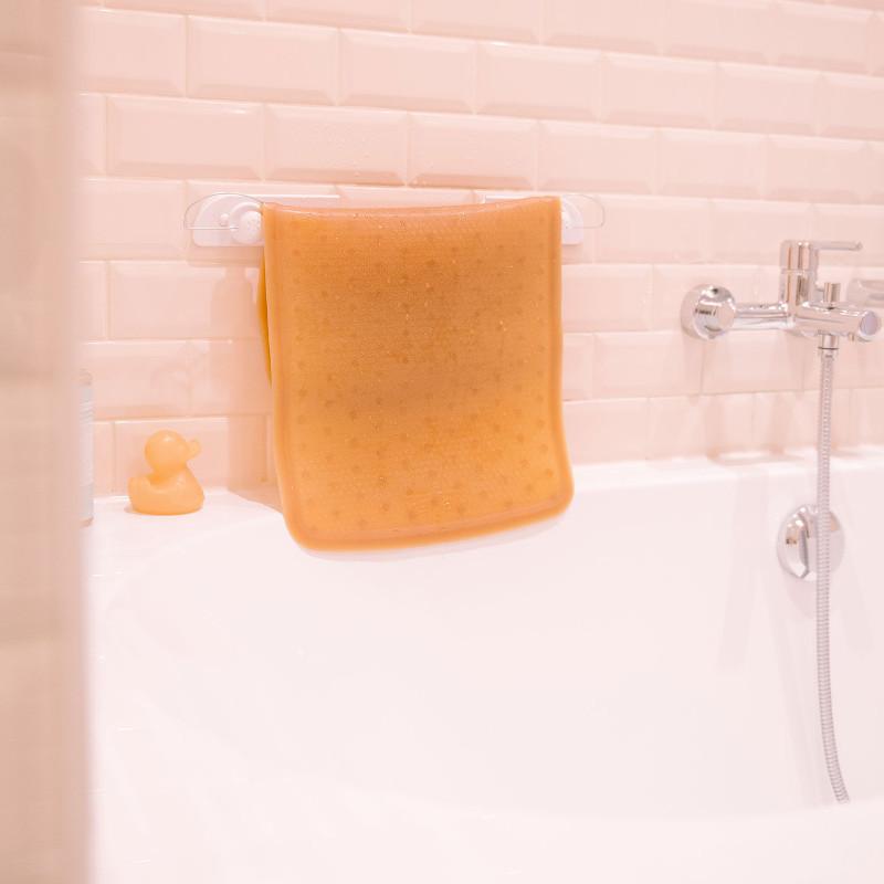 tapis de bain antid rapant h v a 100 naturel. Black Bedroom Furniture Sets. Home Design Ideas