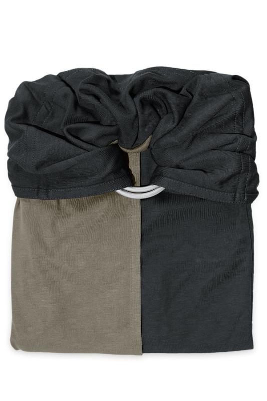 Écharpe de portage Sans Nœud JPMBB Anthracite - Olive