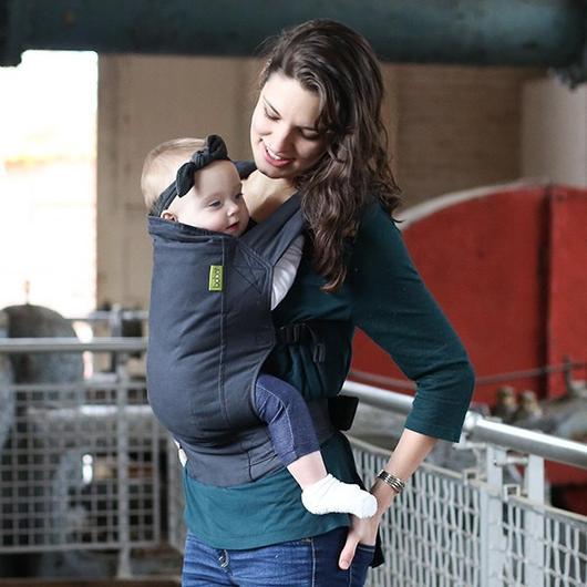 Boba 4GS Slate - Porte-bébé pour Nouveau-né