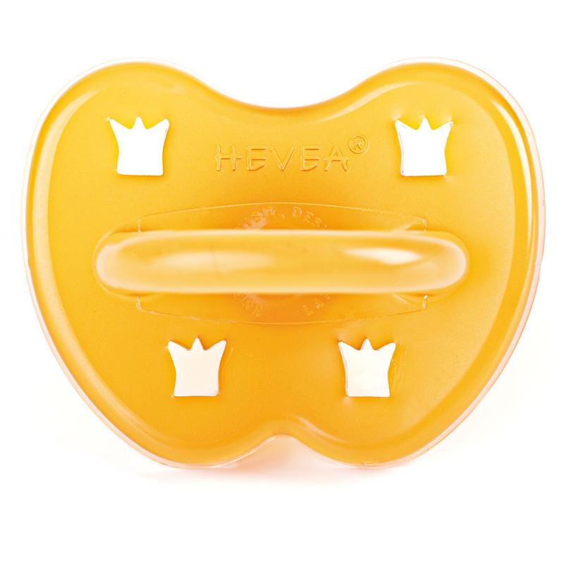 Tétine ronde Hevea - couronne - Caoutchouc naturel