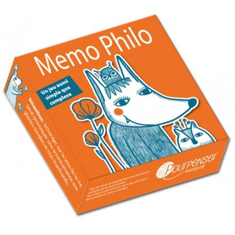 Mémo philo : jeu de cartes