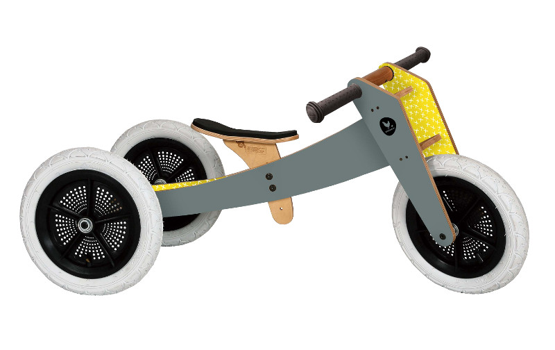 Draisienne Wishbone Bike 3 en 1 Grise