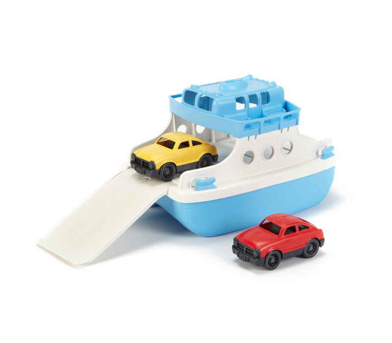 Ferry Boat avec Mini Voitures Green Toys