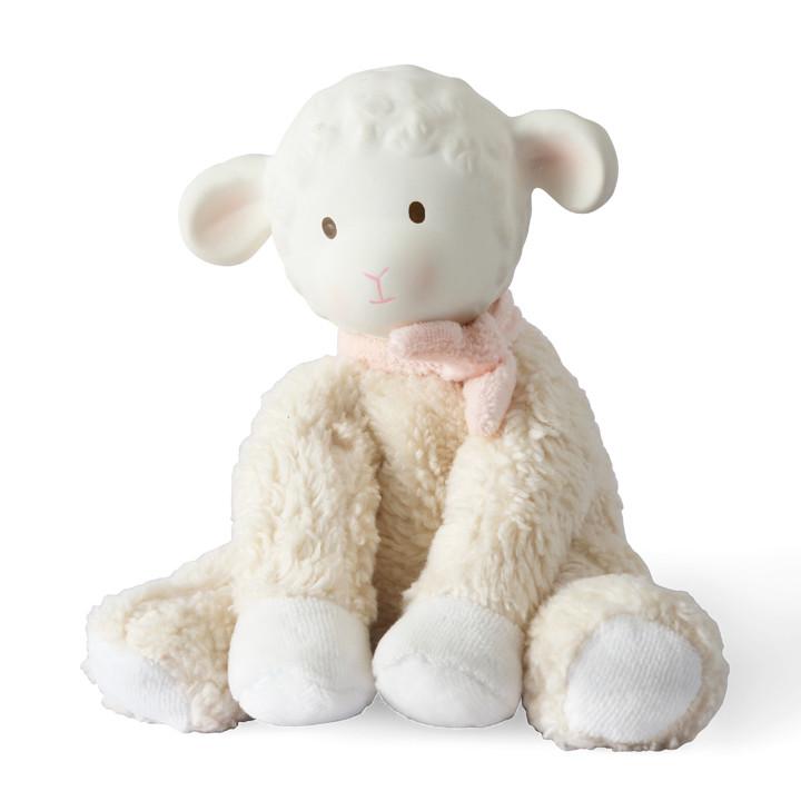 Petit agneau assis Tikiri