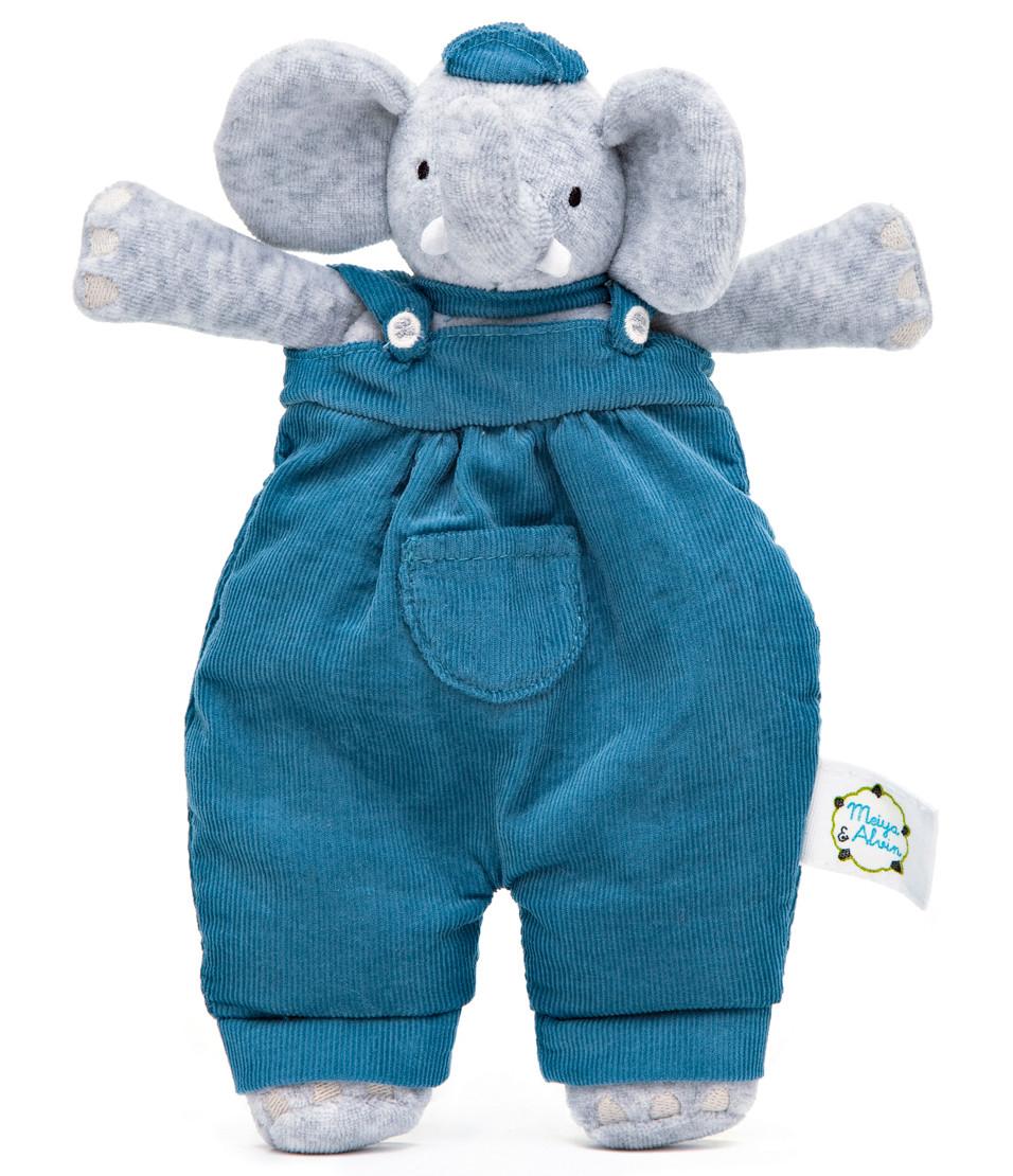 Doudou Éléphant - Meiya et Alvin