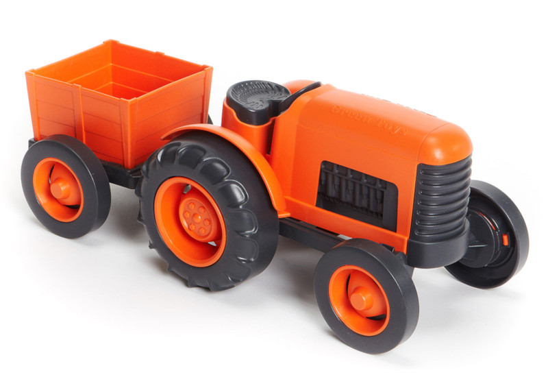 Tracteur Orange Green Toys
