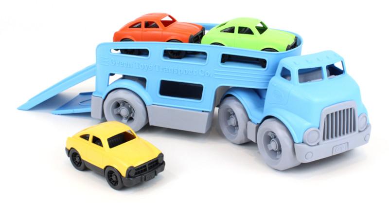 Camion transporteur de voitures - Green Toys
