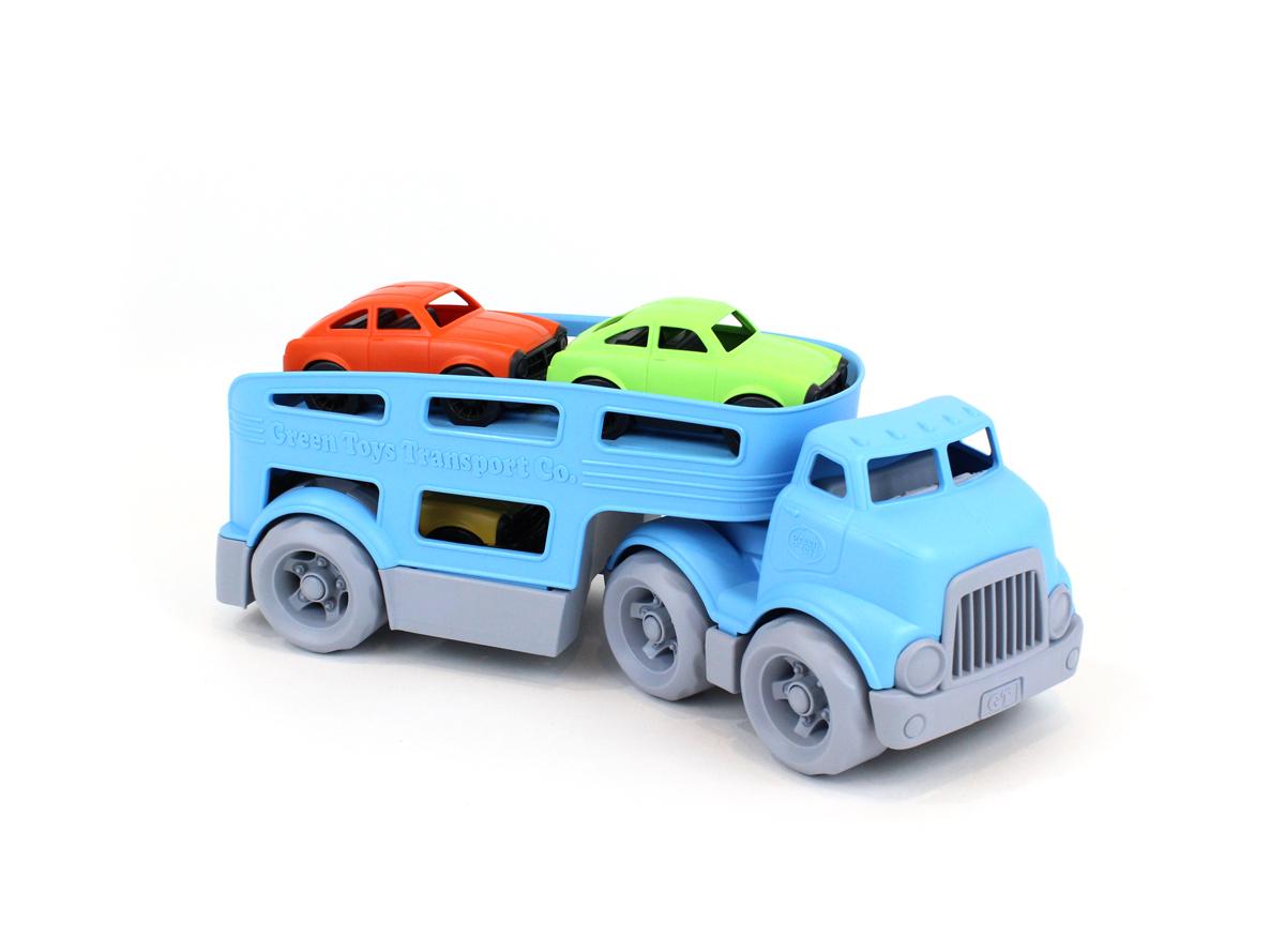 Voitures Transporteur Toys Camion De Green fg76Yby