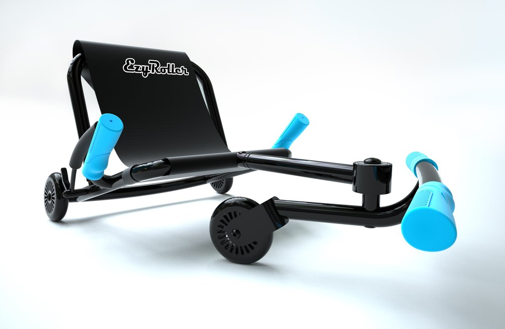 Ezyroller Noir et Bleu