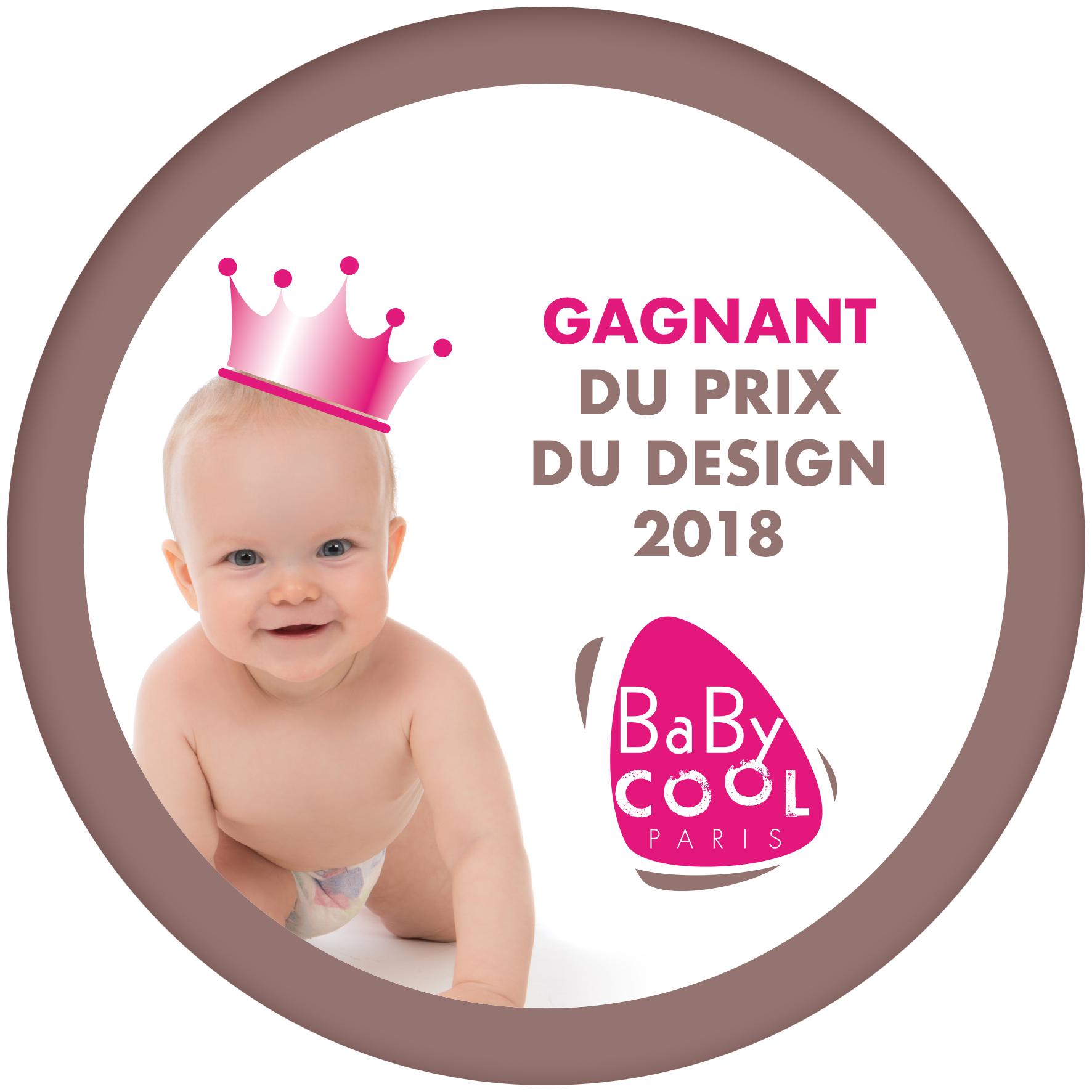 Gagnant du prix design 2018 - baby cool