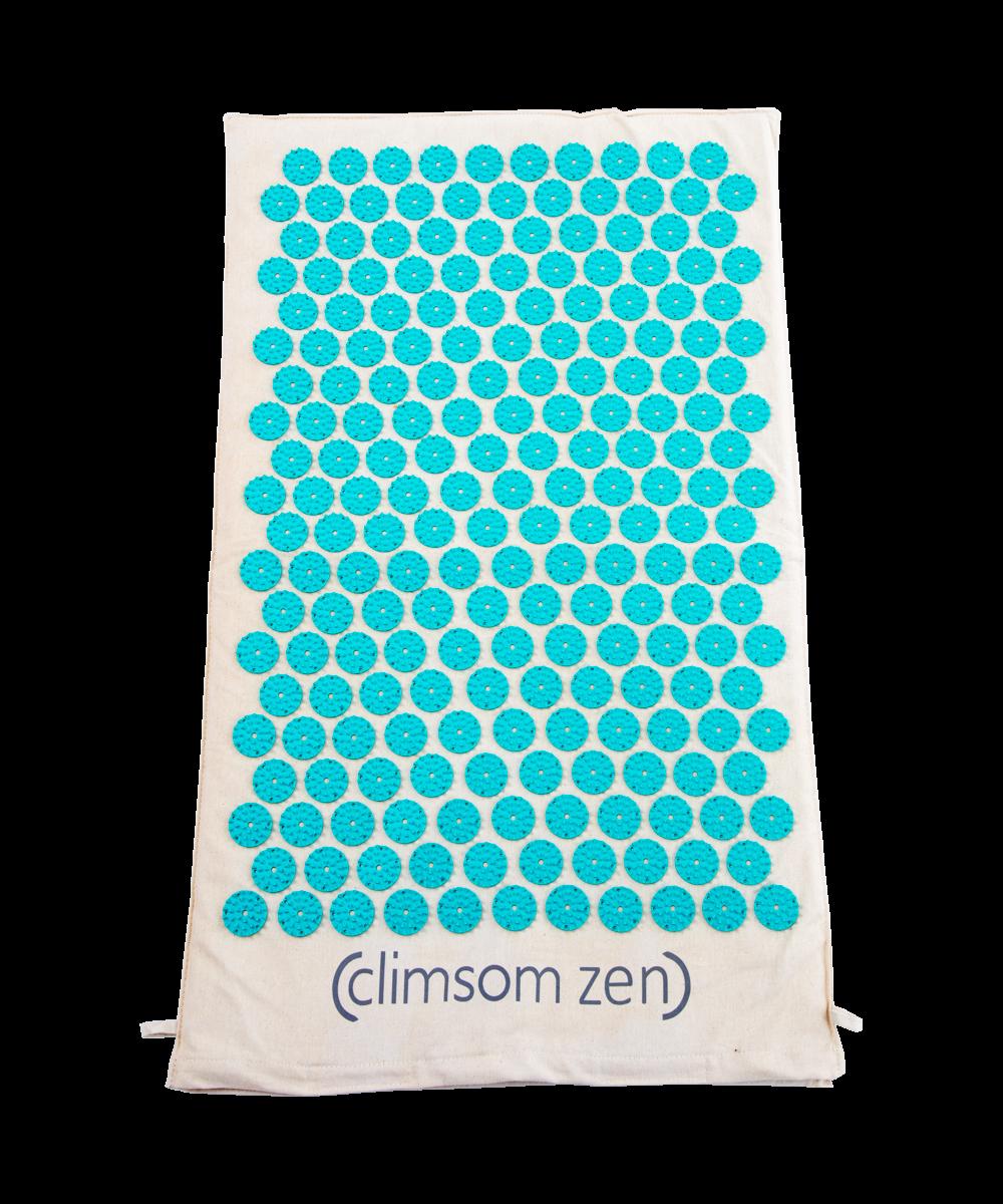 Tapis d\'acupression Climsom Zen - Bleu