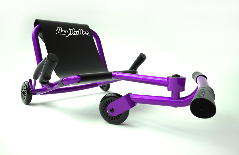 Ezyroller Purple - kart enfant