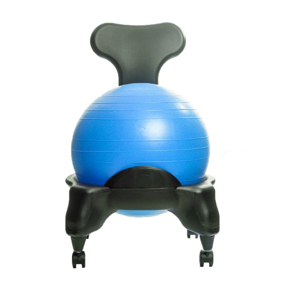 TONIC CHAIR Originale - Chaise Ergonomique avec Ballon Bleu