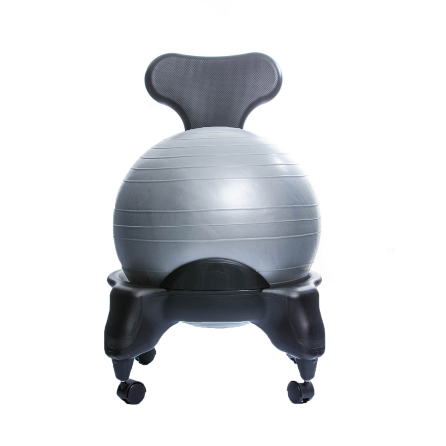 TONIC CHAIR Originale - Chaise Ergonomique avec Ballon Gris