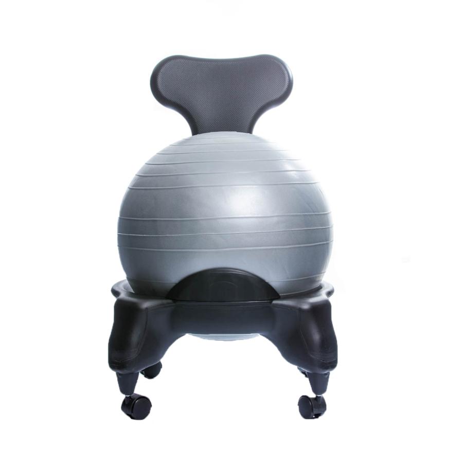 TONIC CHAIR Originale - Chaise Ergonomique avec Ballon Gris