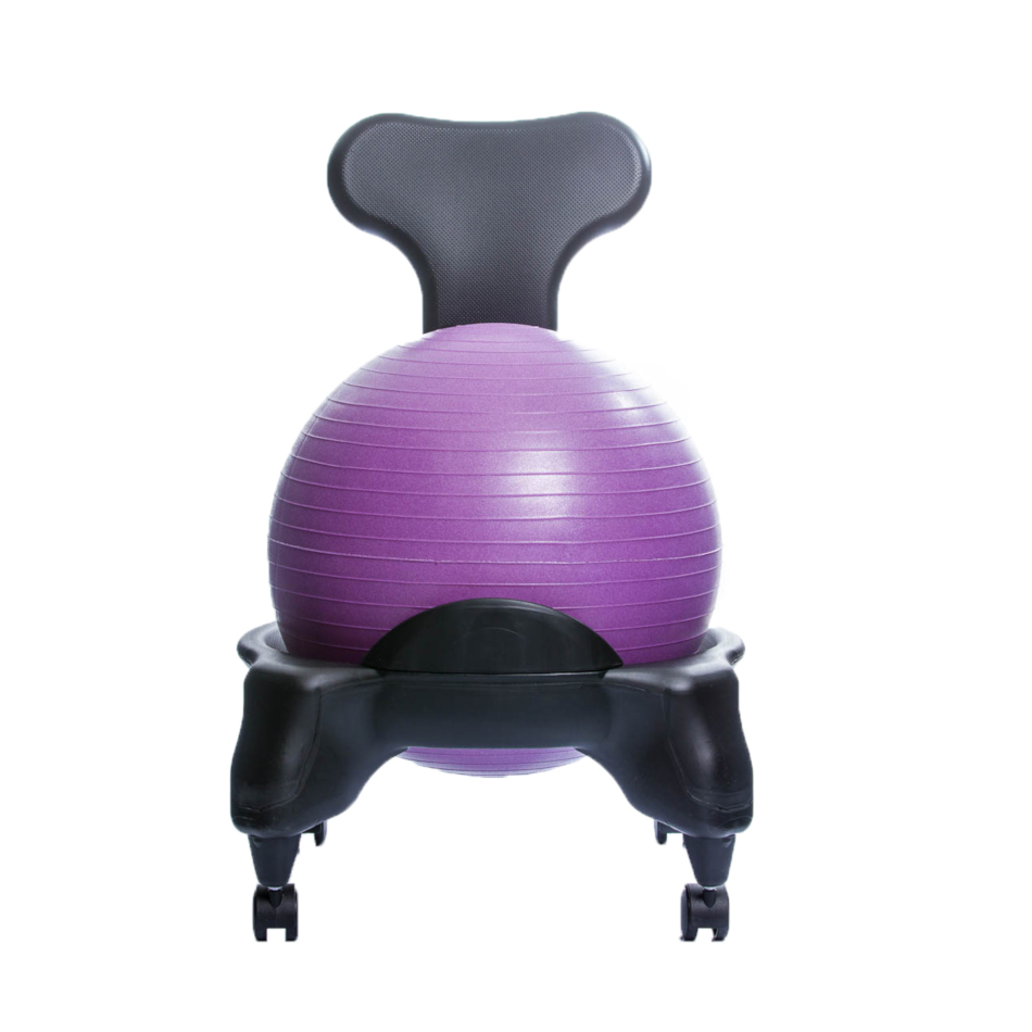 TONIC CHAIR Originale - Chaise Ergonomique avec Ballon Violet
