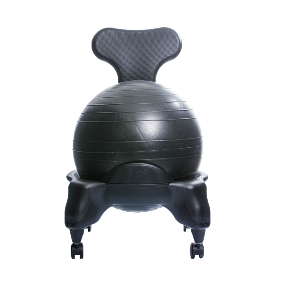 TONIC CHAIR Originale - Chaise Ergonomique avec Ballon Noir